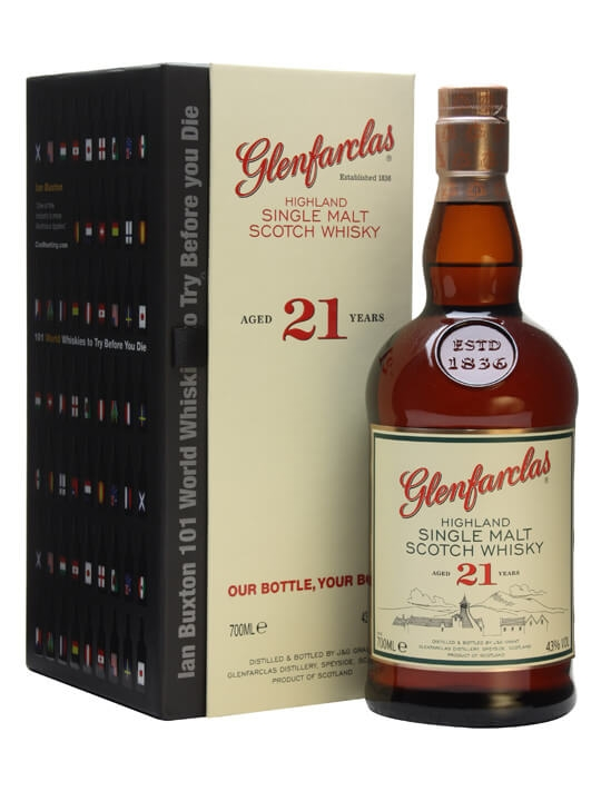 Glenfarclas 21 Year Old & 101 World Whiskies To Try Before You Die Speyside Whisky