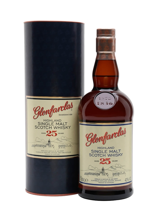 Glenfarclas 25 Year Old Speyside Single Malt Scotch Whisky