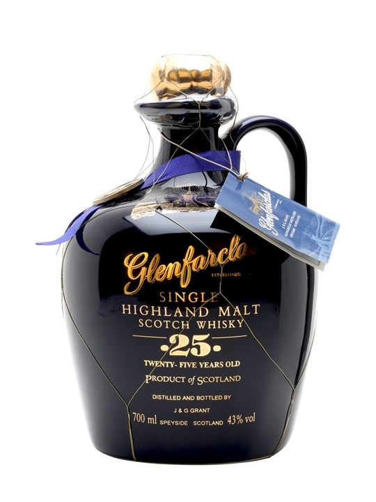 Glenfarclas 25 Year Old Ceramic Speyside Single Malt Scotch Whisky