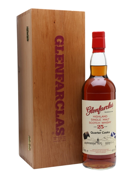 Glenfarclas 25 Year Old / Quarter Cask Speyside Whisky