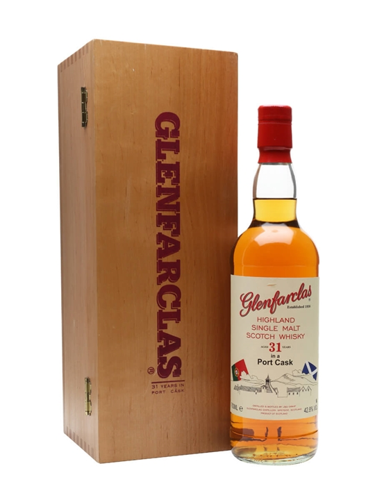 Glenfarclas 31 Year Old / Port Cask Speyside Single Malt Scotch Whisky