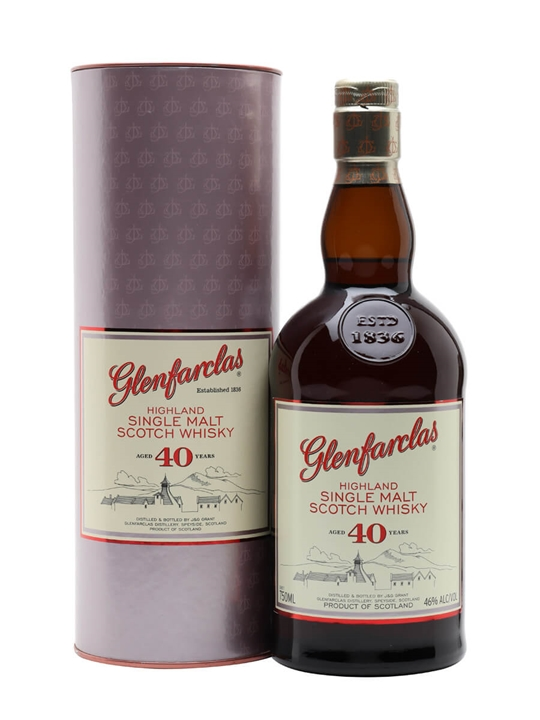 Glenfarclas 40 Year Old Speyside Single Malt Scotch Whisky