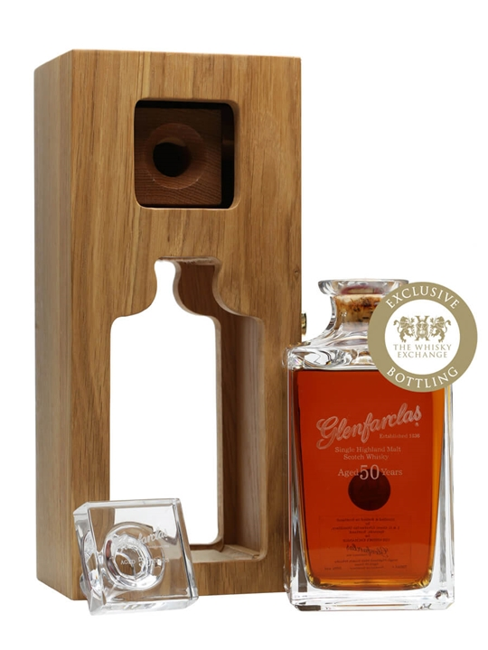 Glenfarclas 50 Year Old / Crystal Decanter Speyside Whisky
