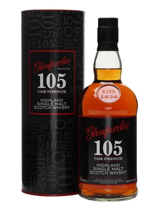 Glenfarclas 105 Speyside Single Malt Scotch Whisky