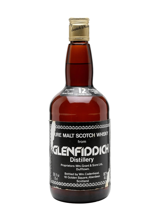 Glenfiddich 1965 / 12 Year Old Speyside Single Malt Scotch Whisky
