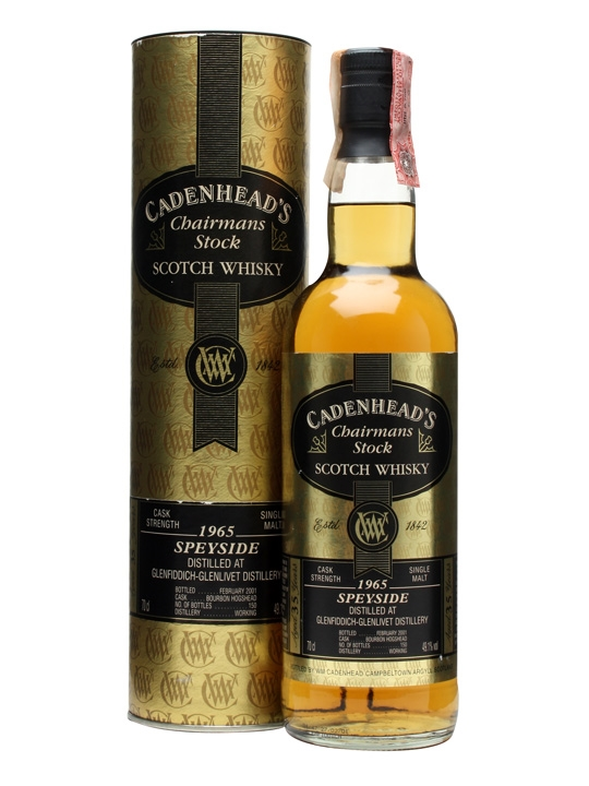 Glenfiddich 1965 / 35 Year Old / Cadenhead's Speyside Whisky