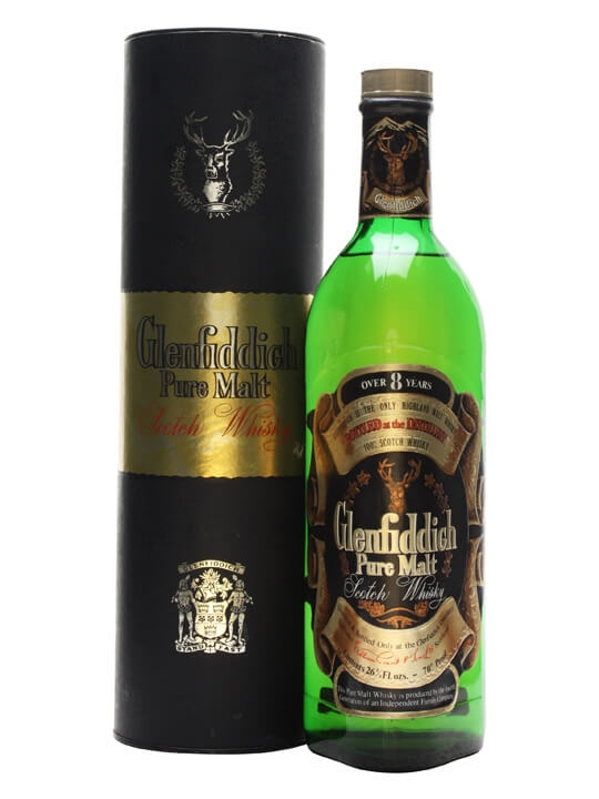 Glenfiddich 8 Year Old / Bot.1980s Speyside Single Malt Scotch Whisky