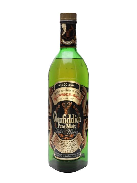 Glenfiddich 8 Year Old / Bot.1970s Speyside Single Malt Scotch Whisky