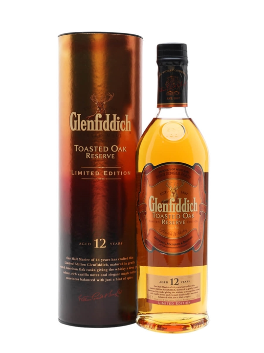 Glenfiddich 12 Year Old / Toasted Oak Reserve Speyside Whisky