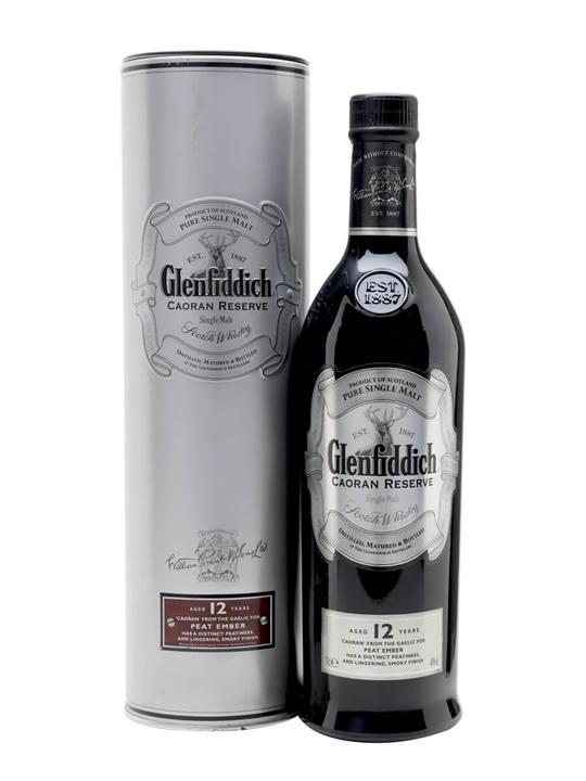 Glenfiddich 12 Year Old / Caoran Reserve Speyside Whisky