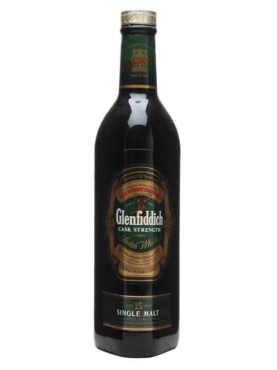Glenfiddich 15 Year Old / Cask Strength Speyside Whisky