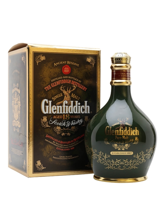 Glenfiddich 18 Year Old / Special Old Reserve Speyside Whisky