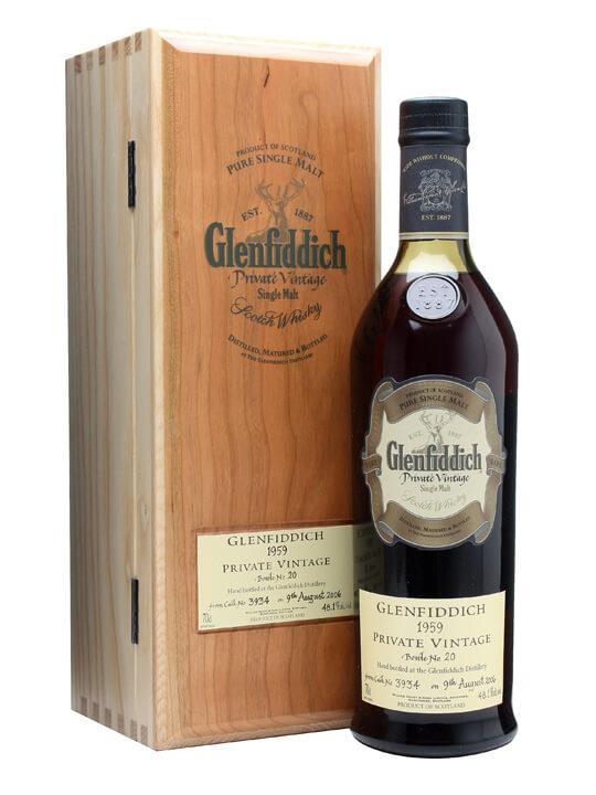Glenfiddich 1959 Private Vintage / Cask #3934 Speyside Whisky