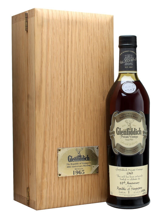 Glenfiddich 1965 / Republic Of Singapore 40th / Cask #10836 Speyside Whisky