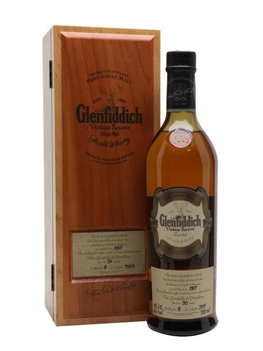 Glenfiddich 1967 Vintage Reserve / 30 Year Old Speyside Whisky