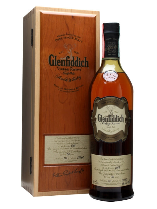 Glenfiddich 1968 / 30 Year Old / Cask #13140 Speyside Whisky