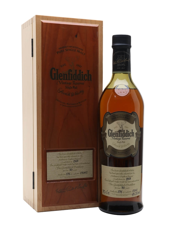 Glenfiddich 1968 / 30 Year Old / Cask #13142 Speyside Whisky