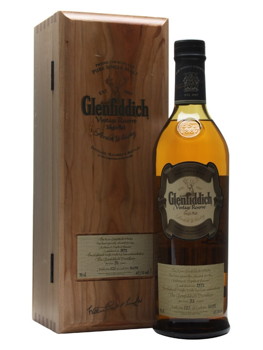 Glenfiddich 1972 / 32 Year Old / Cask #16031 Speyside Whisky