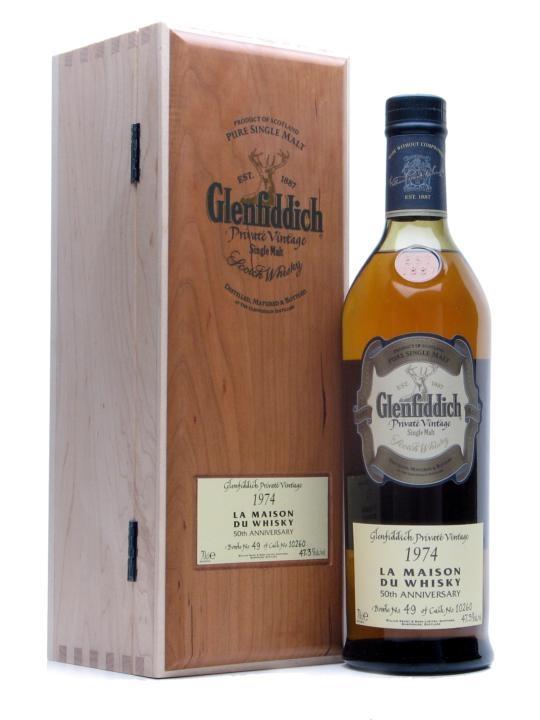 Glenfiddich 1974 / 50th Anniversary Lmw Speyside Whisky