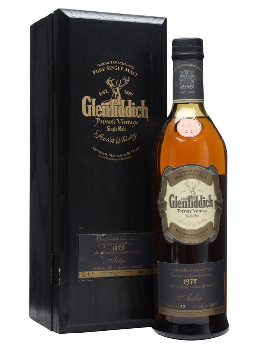Glenfiddich 1975 / Cask #21628 / For Aelia Speyside Whisky