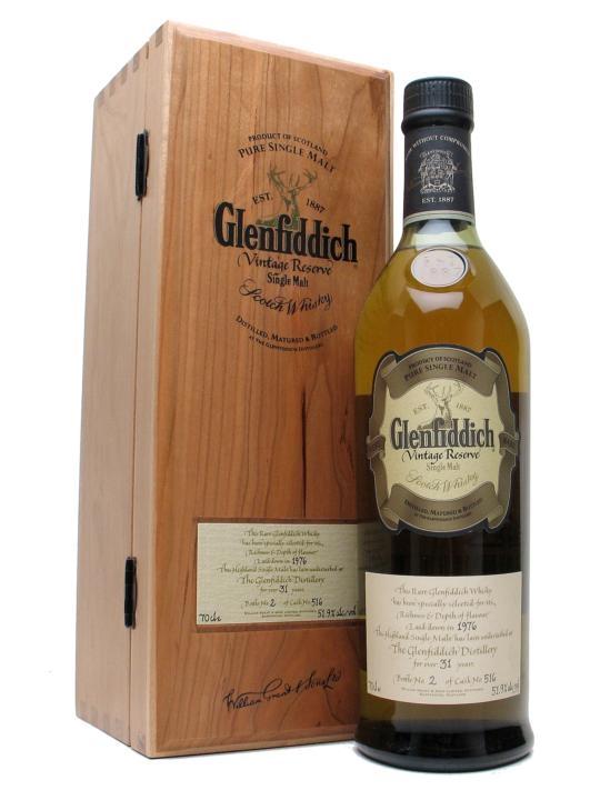Glenfiddich 1976 / 31 Year Old Speyside Single Malt Scotch Whisky