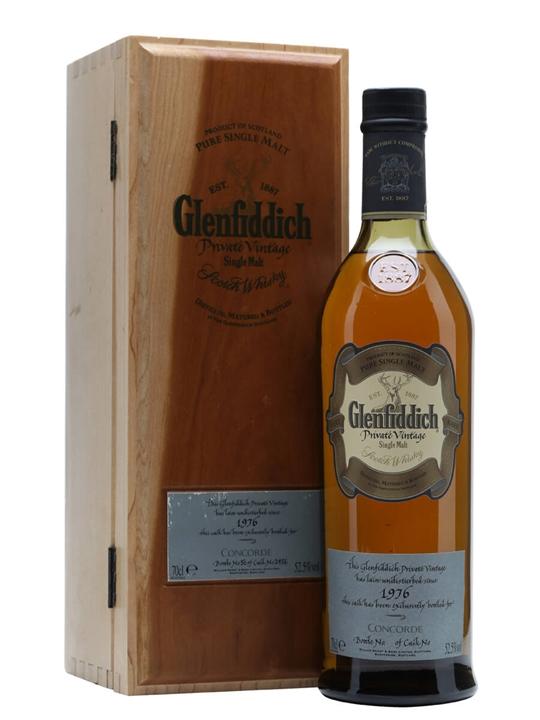 Glenfiddich 1976 Concorde / Cask #2456 Speyside Whisky
