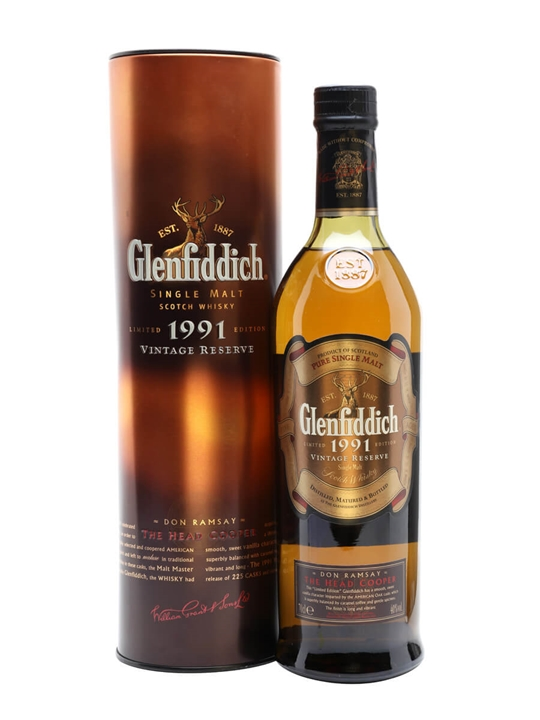Glenfiddich 1991 / Don Ramsay Speyside Single Malt Scotch Whisky