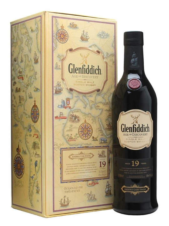 Glenfiddich 19 Year Old / Age Of Discovery Speyside Whisky