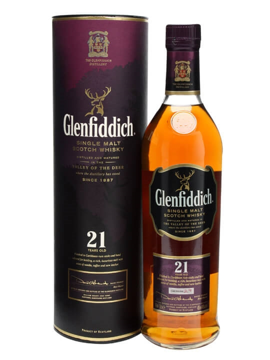 Glenfiddich 21 Year Old / Rum Finish Speyside Whisky