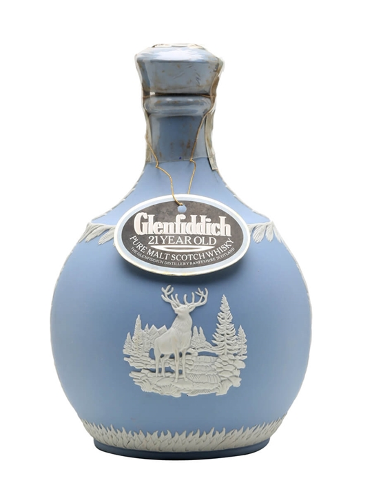 Glenfiddich 21 Year Old / Wedgewood Decanter Speyside Whisky