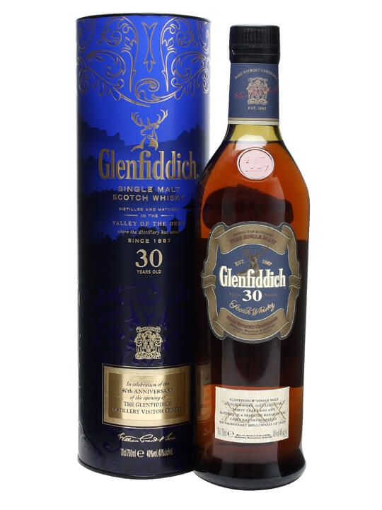 Glenfiddich 30 Year Old / Bot.2009 Speyside Single Malt Scotch Whisky