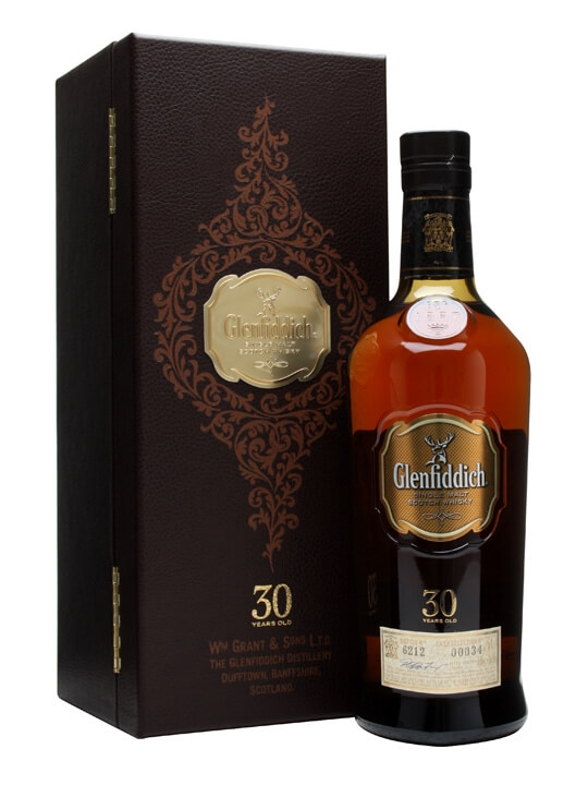 Glenfiddich 30 Year Old Speyside Single Malt Scotch Whisky