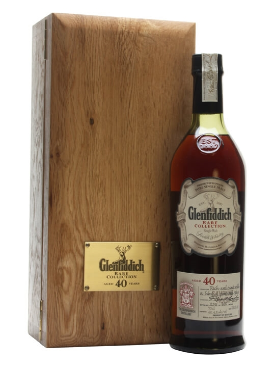 Glenfiddich 40 Year Old / Bot.2008 Speyside Single Malt Scotch Whisky
