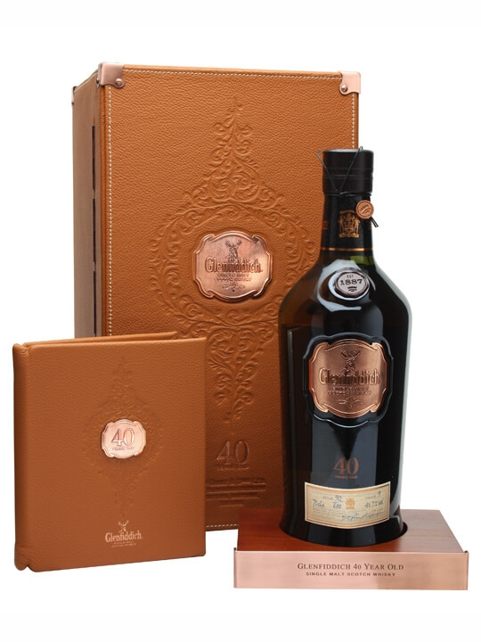 Glenfiddich 40 Year Old / Bot.2012 Speyside Single Malt Scotch Whisky
