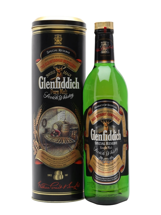 Glenfiddich Pure Malt  / Special Reserve Speyside Whisky
