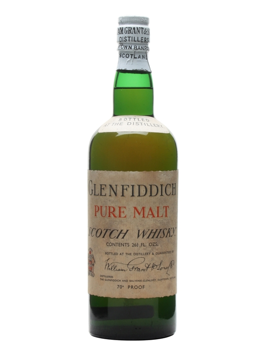 Glenfiddich Pure Malt / Bot.1930s Speyside Single Malt Scotch Whisky
