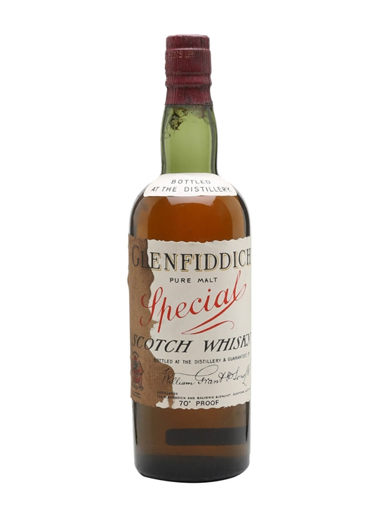 Glenfiddich Special / Bot.1950s Speyside Single Malt Scotch Whisky