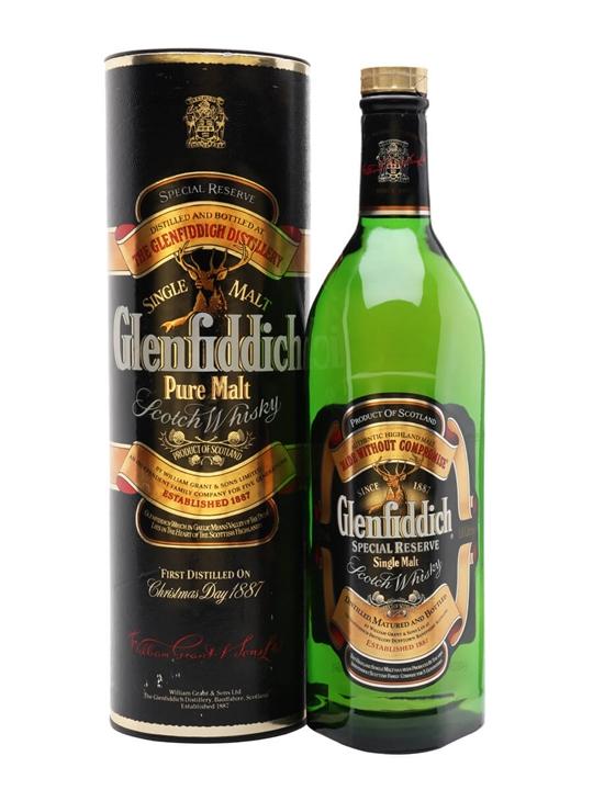 Glenfiddich Special Reserve / Bot.1980s Speyside Whisky