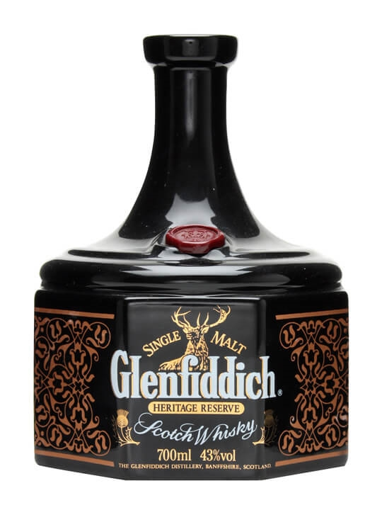 Glenfiddich Heritage Reserve / Robert The Bruce Speyside Whisky