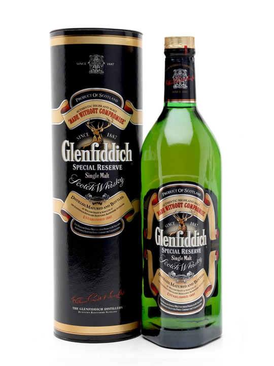 Glenfiddich Special Reserve / Bot.1980s Speyside Whisky