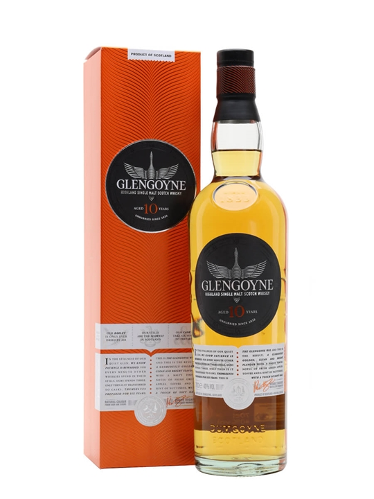 Glengoyne 10 Year Old Highland Single Malt Scotch Whisky