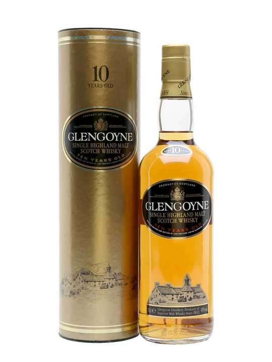 Glengoyne 10 Year Old / Bot.1990s Highland Single Malt Scotch Whisky