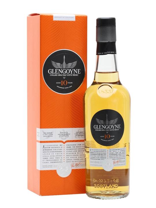 Glengoyne 10 Year Old / Small Bottle Highland Whisky
