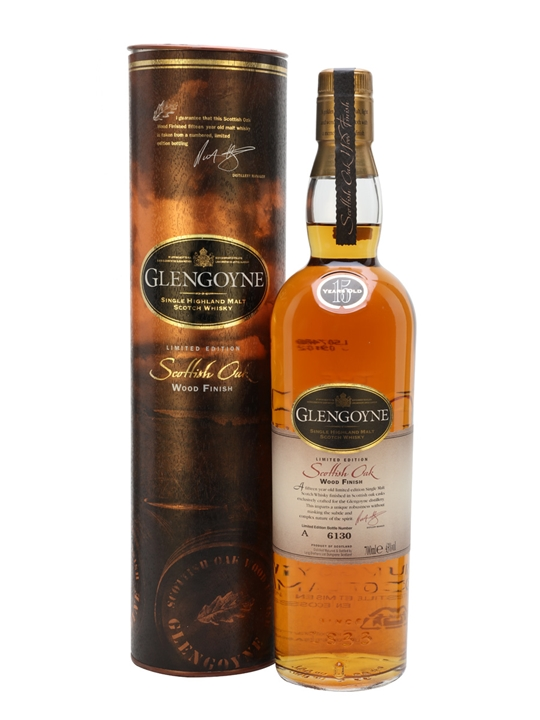 Glengoyne 15 Year Old / Scottish Oak Wood Finish Highland Whisky