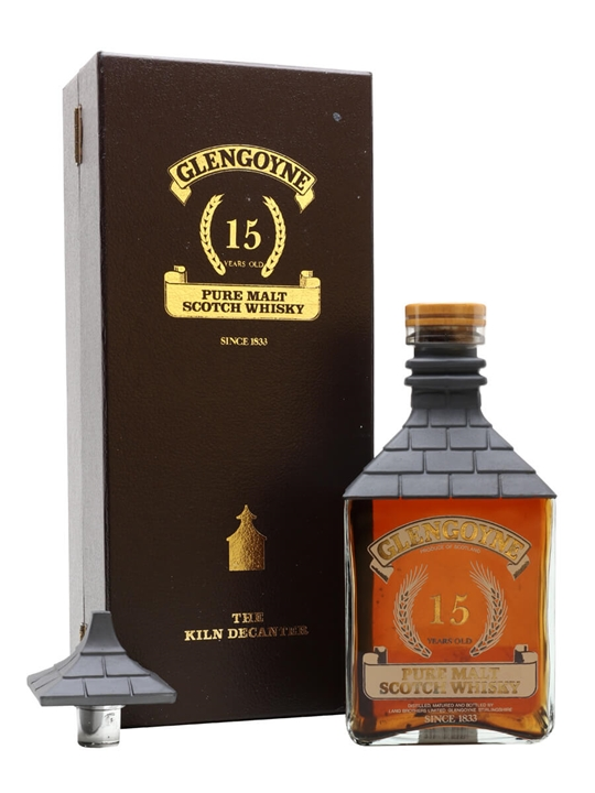 Glengoyne 15 Year Old / Kiln Decanter / Bot.1980s Highland Whisky