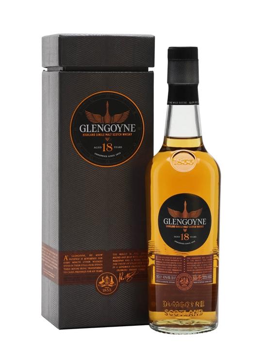 Glengoyne 18 Year Old / Small Bottle Highland Whisky
