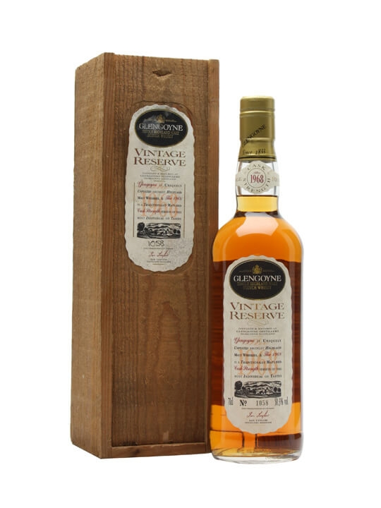 Glengoyne 1968 Vintage / 25 Year Old Highland Whisky