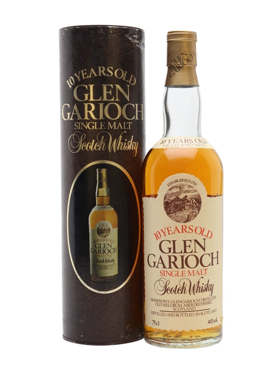 Glen Garioch 10 Year Old  Bot.1980s Highland Whisky
