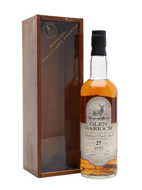 Glen Garioch 1970 / 27 Year Old / Cask #376 Highland Whisky