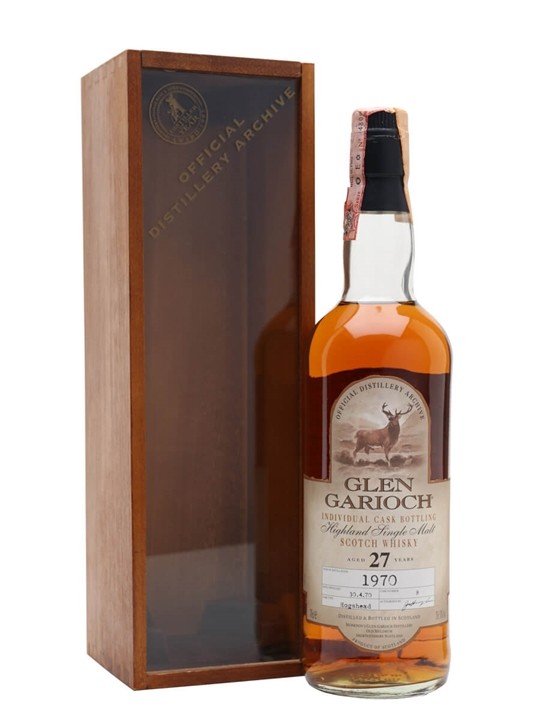 Glen Garioch 1970 / 27 Year Old / Cask #8 Highland Whisky